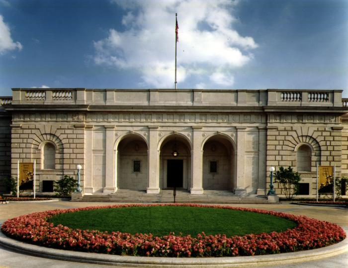 Freer Gallery of Art in Washington DC