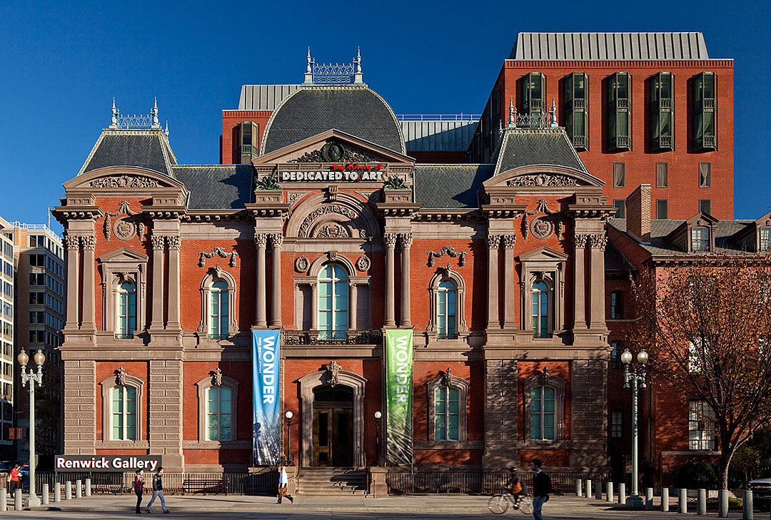 Renwick Gallery in Washigton DC