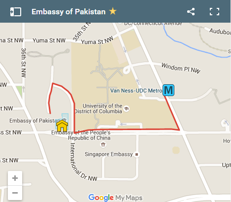 Embassy of Pakistan
