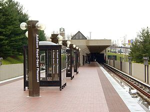 Addison Road-Seat Pleasant Metro Station