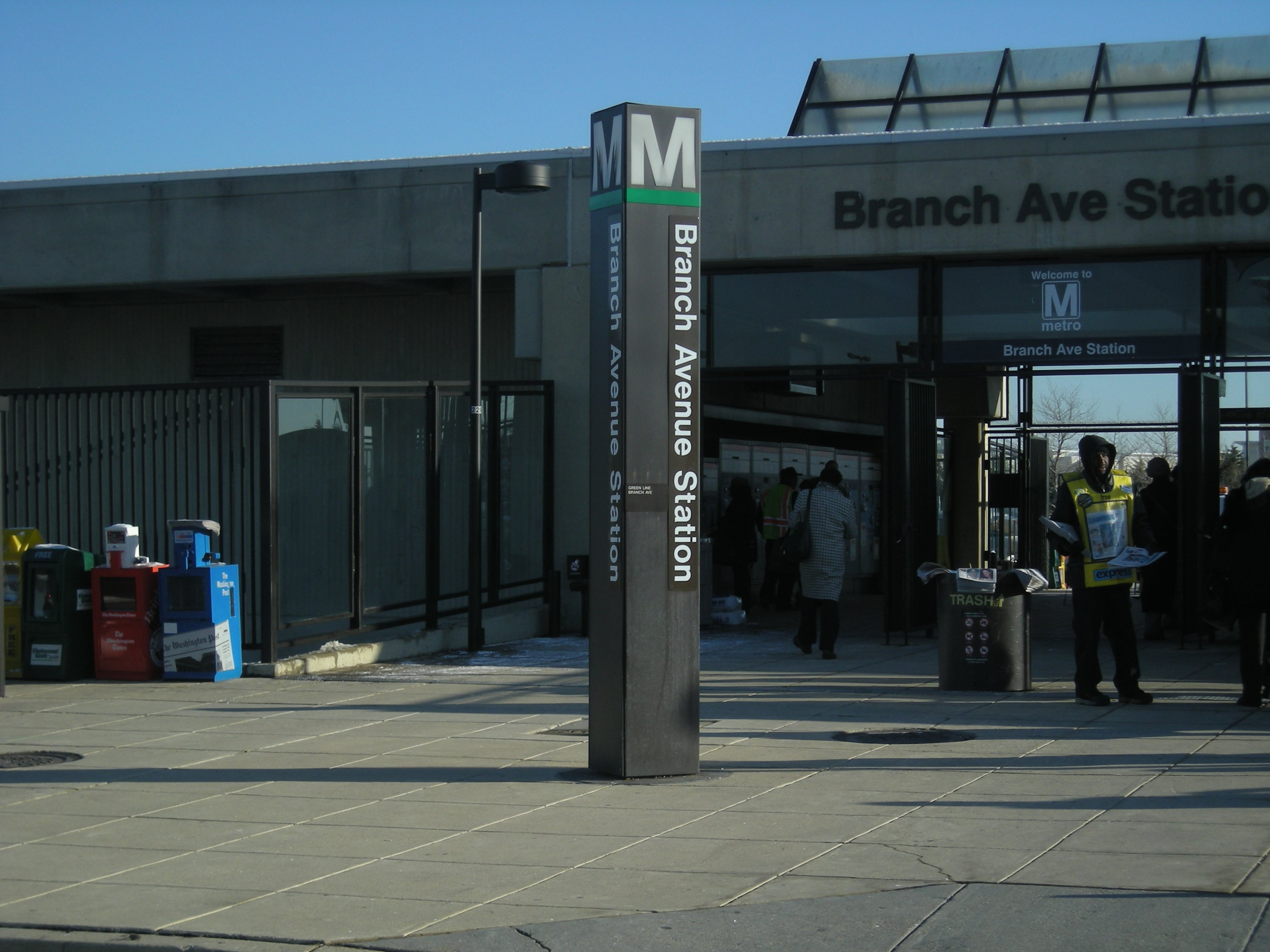 Branch Ave Metro Station