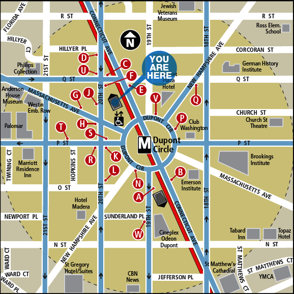 Washington dc Map With Metro Stations Washington dc Metro