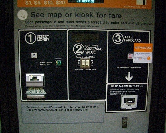 Metro Farecard Machines